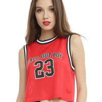 Fall Out Boy Immortals Girls Jersey Tank Top
