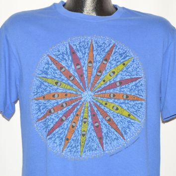 90s Kayak Kaleidoscope Design t-shirt Large
