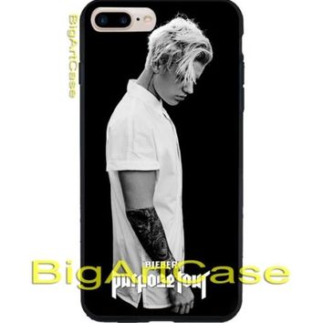 Best Justin Bieber Purpose Tour Poster Art CASE COVER iPhone 6s/6s+/7/7+/8/8+, X