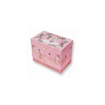 Childrens Ballet School Musical Jewelry Box