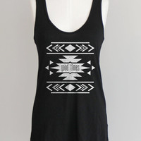 Tribal Tank Top Eco Racerback