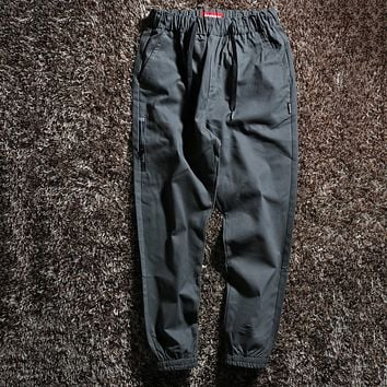 Supreme Fashion Casual Simple Pants Trousers
