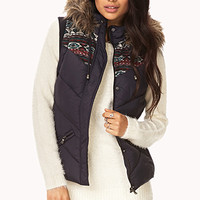 Winter Wonderland Bomber Vest
