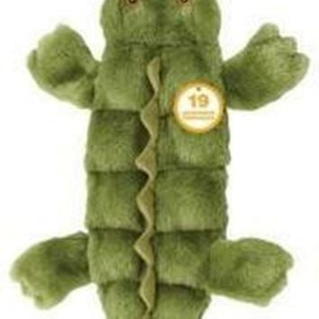 """Ethical Pet Skinneeez Tons-O-Squeakers Alligator Dog Toy 21"""""""