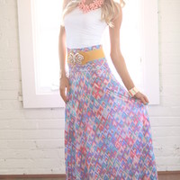 Easter Morning Maxi Skirt