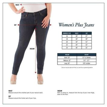 LMFN3C Signature by Levi Strauss & Co. Gold Label Women's Plus-Size Pull-On Bootcut Jean