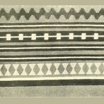 Crochet Pattern Navajo Blanket Native American Style Afghan Vintage Design Crochet Pattern PDF Pattern Instant Download Digital File (Col 2)