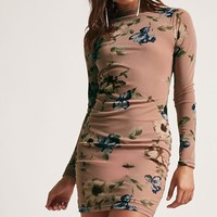 Floral Mesh Bodycon Dress - Women - 2000244983 - Forever 21 Canada English