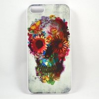 Unique Floral Sugar Skull for Iphone 5 Case (same as picture):Amazon:Cell Phones & Accessories