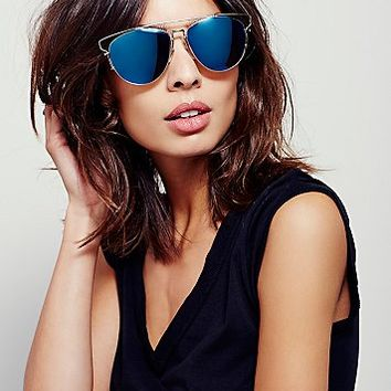 Free People Womens Top Down Aviator
