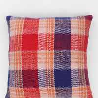 4040 Locust Winter Plaid Pillow - Urban Outfitters