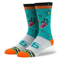 Stance 1996 All Star Socks In Turquoise
