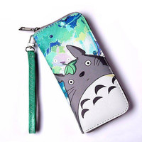 Totoro & Other Anime Character Zipper Wallet Purse (27 Styles)