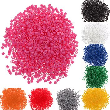 1000pcs 5mm 9 Colors Perler Kandi Beads