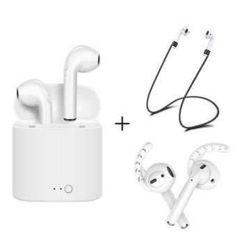 VONW3Q Apple Airpods I7S TWS Wireless Bluetooth Earbuds In-Ear Earphone for IPhone