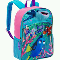 "Disney Finding Dory Full Size 16"" Backpack FREE 2ND DAY SHIPPING"