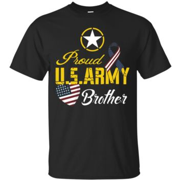 Mens Proud U.S. Army Brother Patriotic C3 Funny T-shirt