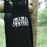 MAMA tried black SLUB - tank | gypsyville