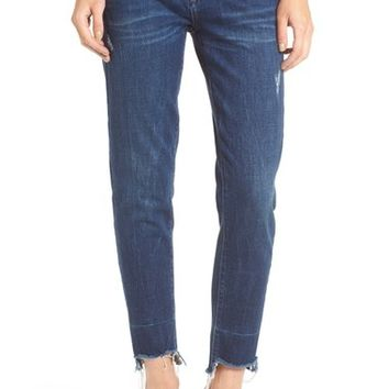 BLANKNYC Staggered Hem Crop Jeans (Amateur Hour) | Nordstrom