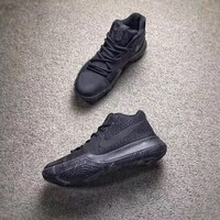 NIKE Kyrie 3 All Black Men Basketball shoes