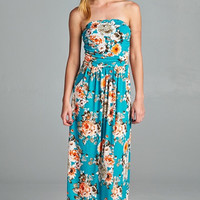 Aloha Maxi Dress - Jade