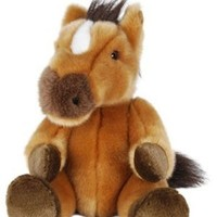 "Purr-Fection Tender Friend Horse Sitting 6"" Plush"