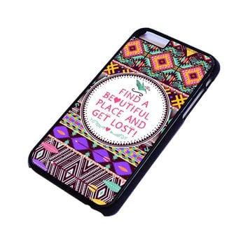 PIECE TRIBAL PATTERN 2 iPhone 4/4S 5/5S 5C 6 6S Plus Case Cover
