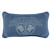 disney parks mickey and minnie grand floridian hotel pillow new with tags