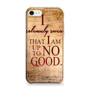 Harry Potter Quotes-I Solemnly Swear That I Am Up To No Good iPhone 6 | iPhone 6S Case