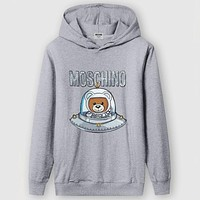 Trendsetter Moschino Women Man Fashion Casual Hoodie Sweater