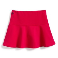 Girl's Ralph Lauren Fit & Flare Skirt,