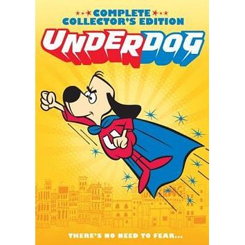 Underdog poster Metal Sign Wall Art 8in x 12in