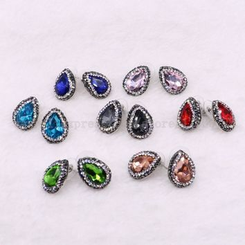 Multi Color Women Stud Earrings 50