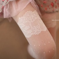 Korean Lace Stockings [11723928015]