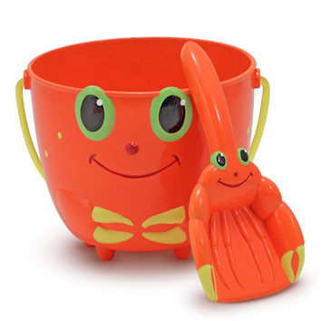 Melissa & Doug - Clicker Crab Pail and Scoop