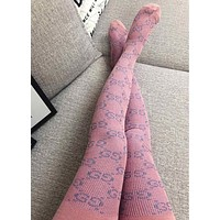 GUCCI Double g gold wire panty hose 14 colors