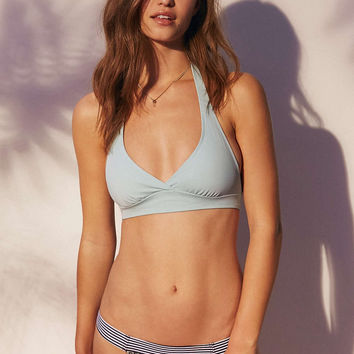 Out From Under Solid Halter Bikini Top - Urban Outfitters