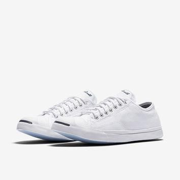 the converse jack purcell low profile unisex slip on shoe