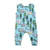 Going Camping Playsuit 6-24M