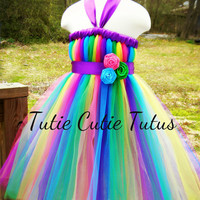 Tutu Dress Green, Pink, Blue, Yellow, and Purple. NB-4T