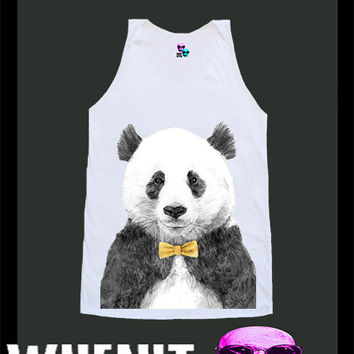 worldwide shipping just 7 days PANDA shirt singlet tank top 10345