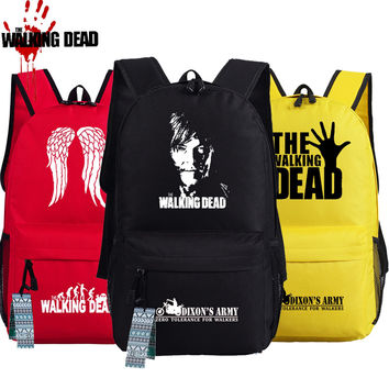 THE WALKING DEAD Backpack Women Men Shoulder Travel Bag Schoolbag 45 x 32 x 14 cm