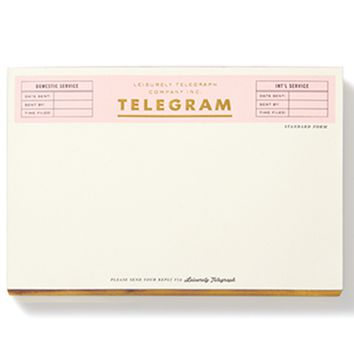 kate spade new york telegraph notepad