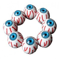 Multi Bloody Eyeball Stretch Bracelet