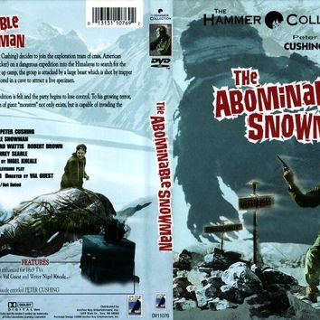The Abominable Snowman DVD Forrest Tucker Peter Cushing