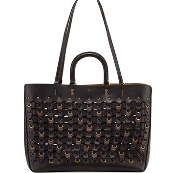 Coach 1941 Rogue Colorblock Linked Tote Bag, Black