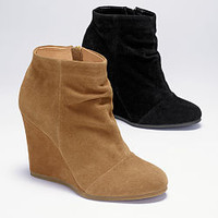 Ruched Wedge Bootie - VS Collection - Victoria's Secret
