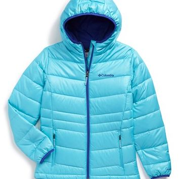 Girl's Columbia 'Gold 550 TurboDown' Water Resistant Jacket ,