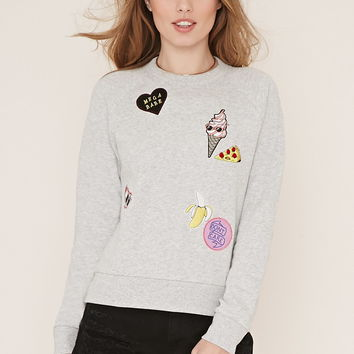Patch Graphic Pullover
