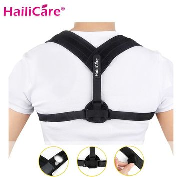 Upper Back Posture Corrector Clavicle Support Belt Back Slouching Corrective Posture Correction